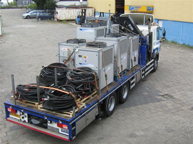Chillers en Airco's Voor Serverruimtes Telecomprovider