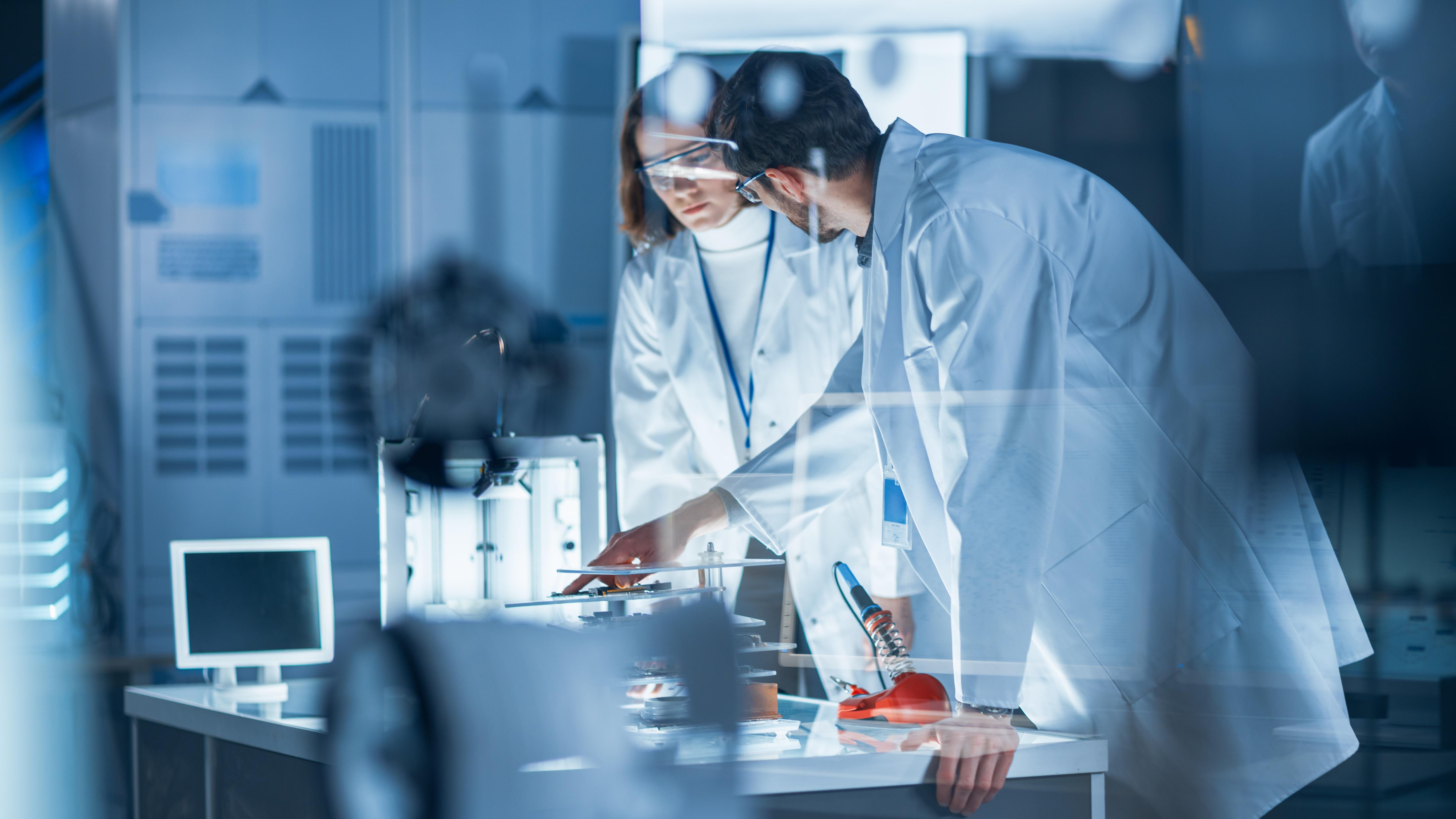 Ontvochtiging project bij farmaceutisch bedrijf