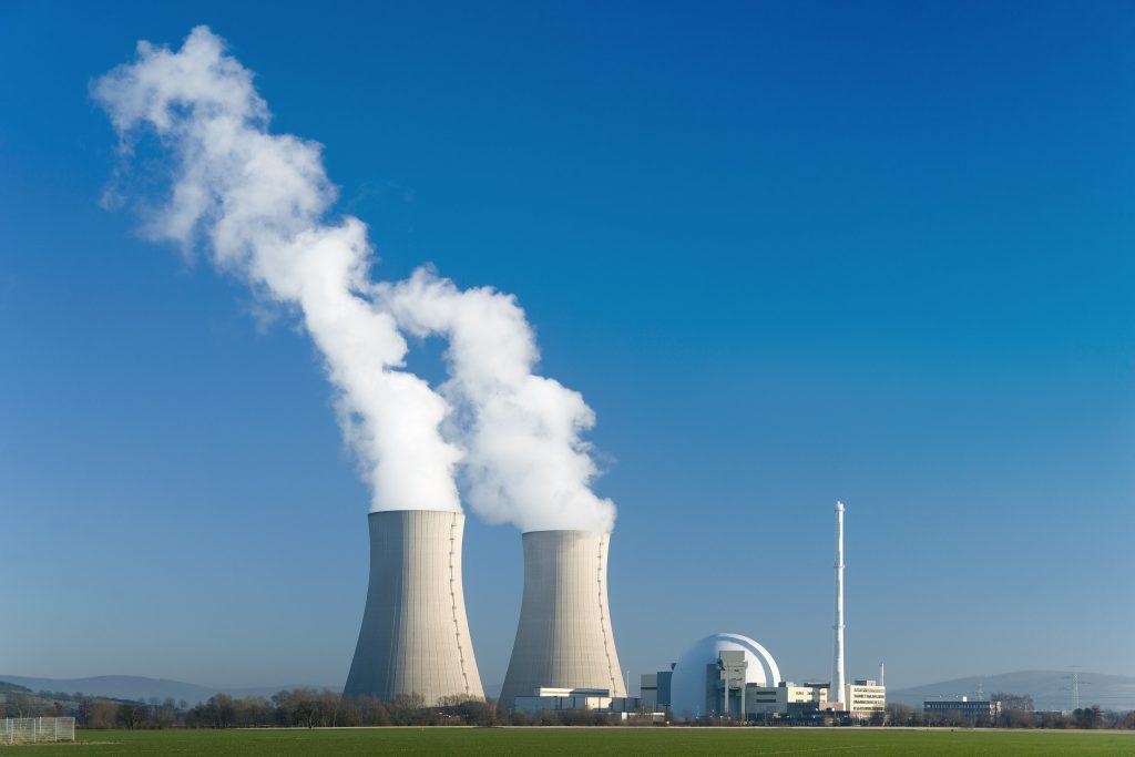 Reguleren van de luchtvochtigheid in een kerncentrale